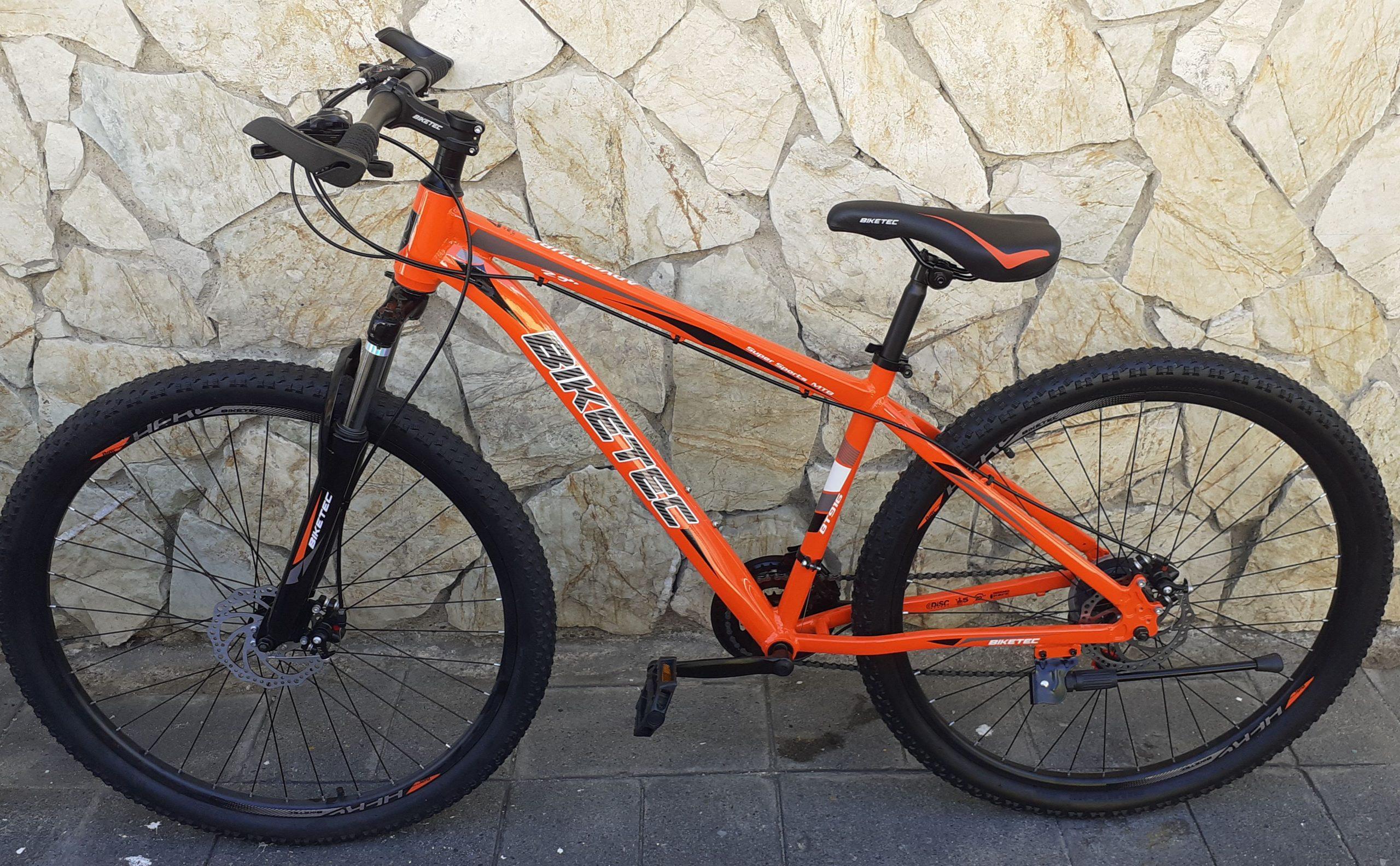 biketec naranja